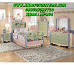 Set Tempat Tidur Anak Warna Warni