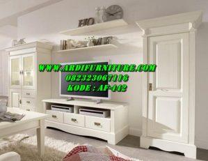 Satu Set Bufet TV  Minimalis Terbaru