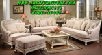 Set Kursi Tamu Sofa Silver Luxury Classic