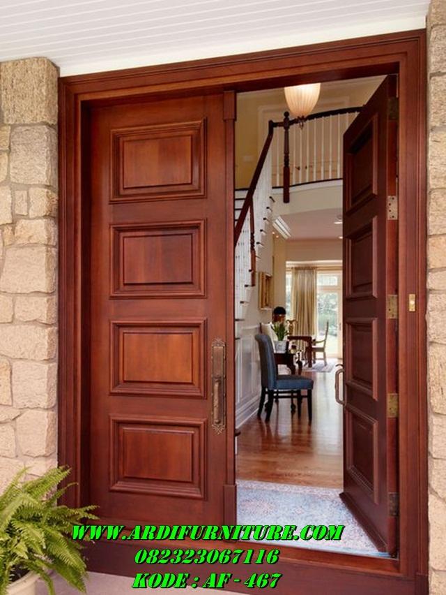 Pintu Kupu Tarung Minimalis Modern Jual Pintu Kupu Tarung Ardi Furniture Jepara