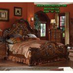 Tempat Tidur Remaja Klasik Ukir