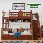 Tempat Tidur Tingkat Klasik Kayu Jati