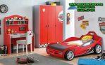 Set Kamar Anak Karakter Mobil Minimalis