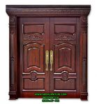 Pintu Rumah Klasik Mewah Jati Jepara