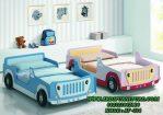Tempat Tidur Anak Kembar Bentuk Mobil