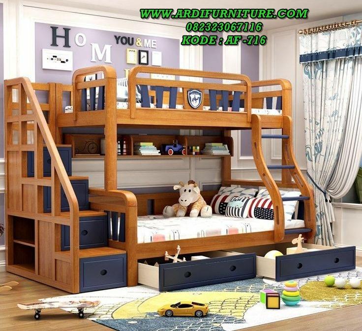 Tempat Tidur Tingkat Anak Kekinian